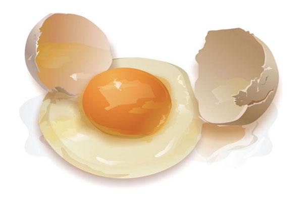 erecția ouălor crude